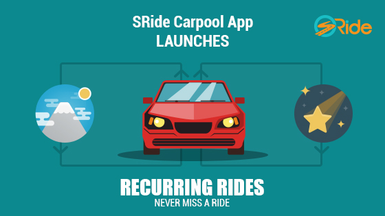 sRide Recurring Rides to make carpooling easier!